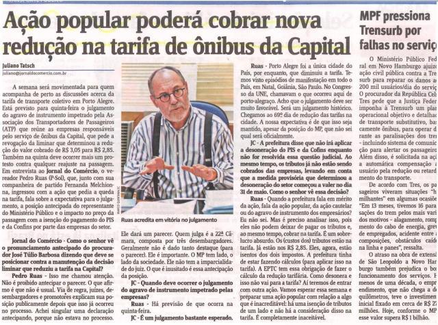 Jornal do Comércio - pág. 27 11/06/2013