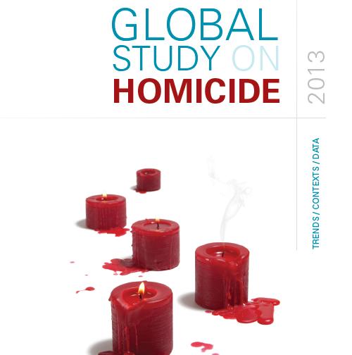 Relatório da UNODC/ONU sobre Homicídios no Mundo