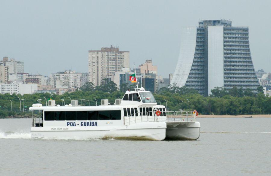 Novo catamarã será integrado à travessia Porto Alegre-Guaíba neste fim de semana